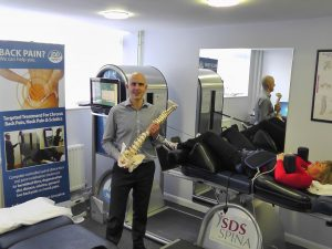 Dan Smith with IDD Therapy